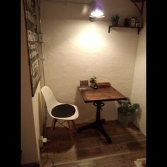cenvillさんの「棚,照明,ポスター,イームズ,おうちカフェ」についてのお部屋写真 - RoomClip