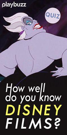 How well do you know Disney films? *** #PlaubuzzQuiz #Disney Disney Movie Trivia Frozen The Lion King The Little Mermaid Moana Mulan Hercules Aladdin Movie Playbuzz Quiz Disney Movie Trivia, Disney Films, Disney Quiz, Disney Disney, Aladdin Movie, Movie Facts, Playbuzz, Moana, Aladdin Film