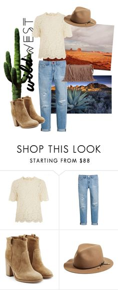 """""""Wild West Style"""" by xmokkax ❤ liked on Polyvore featuring Valentino, White House Black Market, Laurence Dacade, rag & bone and Rebecca Minkoff"""