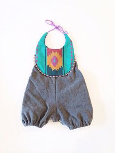 Southwestern boho infant and toddler romper by thebrassrazookids, $48.00