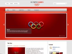 OlympicGames is a magnificent WordPress theme, it includes easy to use administrative panel, custom widgets, slider, menus and lots of other useful features. It is excellent solution for sport blog, especially about the Olympics.