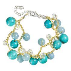 HandPicked: Turquoise Beaded Bracelet