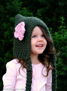 The Fairytale Pixie hood - CROCHET Pattern Sprinkle fairytale wonder and imagination into your crochet bag for a project full of pixie dust!