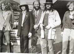 Led Zeppelin with Peter Grant *