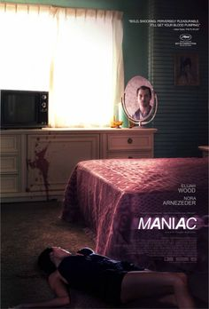 A lesser-seen poster for 'Maniac'. I like the neon-coloured one with all the mannequins, but I prefer this one!