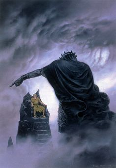 ted nasmith_the silmarillion_2_quenta silmarillion_20_of the fifth battle - nirnaeth arnoediad1_hurin and morgoth.jpg (JPEG Image, 1103×1600 pixels) - Scaled (65%)