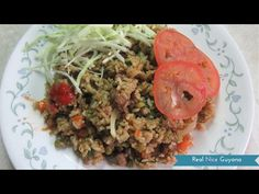 Guyana, Caribbean Chicken Fried Rice, step by step Video Recipe ( HD) - YouTube