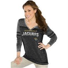 Womens Jacksonville Jaguars Touch by Alyssa Milano Black Morgan T-Shirt