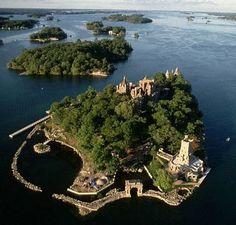 Boldt Castle, Heart Island, 1000 Islands, New York, USA