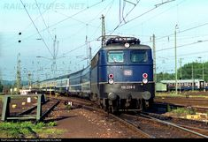 RailPictures.Net Photo: 110 229-2 Deutsche Bahn DB, BR 110 at Karlsruhe, Germany by ARTEMIS KLONOS