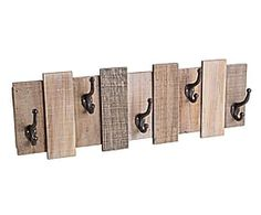 , 10 x 72 x 24 cm Photo Wall Decor, Wood Wall Decor, Pallet Furniture, Furniture Design, Rack Tv, Wall Organization, Pallet Projects, Pallet Ideas, Wood Design