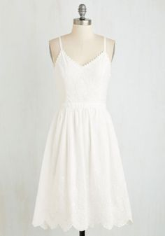 Mid-length Sleeveless Fit & Flare Affable Aura Dress by ModCloth