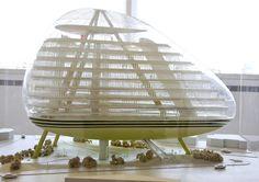 Green Building (concept) - Jan Kaplicky, 1990