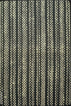 Textile sample  Anni Albers  Cotton and jute