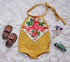 Can't wait to release a whole slew of these Scarf Playsuits! Maybe one of my favorite designs to date, but I really love everything I make so I couldn't choose if I had to do you have a favorite design? I have one left of these ready to ship in 18-24 if anyone wants it! $68 dollars plus shipping ❤️ leave email to claim!