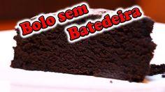 Bolo de Chocolate mais Rápido e Fácil do Mundo!