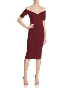 b4dfe1ffdfa9 Cinq à Sept Birch Off-The-Shoulder Dress Women - Bloomingdale s