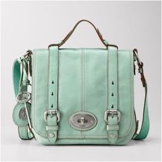 Fossil Organizer in sea green...Totally bought this last spring! love!