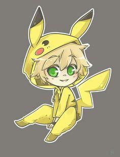 Pikachu chibi