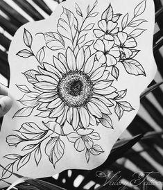 Sunflower Tattoo Sleeve, Sunflower Tattoo Shoulder, Sunflower Tattoos, Cover Up Tattoos, Body Art Tattoos, Small Tattoos, Tatoos, Tattoo Sleeve Filler, Sleeve Tattoos