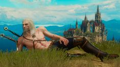 'Draw me like one of your... Toussaint girls' aka my best screenshot taken in Witcher 3. NSFW