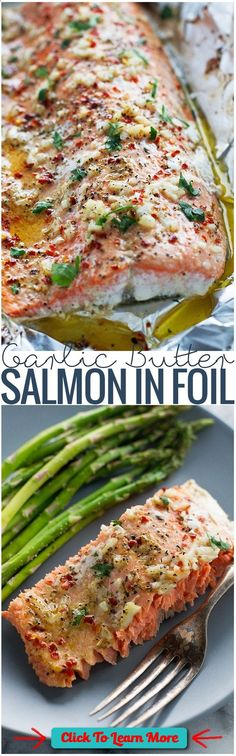 #FastestWayToLoseWeight by EATING, Click to learn more, Garlic Butter Baked Salmon In Foil Recipe plus 24 more of the most popular pinned Paleo recipes , #HealthyRecipes, #FitnessRecipes, #BurnFatRecipes, #WeightLossRecipes, #WeightLossDiets