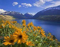 Beautiful Wallowa Lake