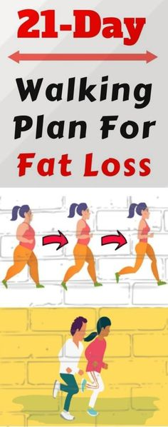 Most people think that they must do intense workouts in order to successfully lose weight. Luckily, this is not the case! All you need to do is make sure your mind is on the right track and be persistent in your exercising.  #walking #plan #fatloss