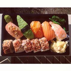 #sushi #dinner #Padgram