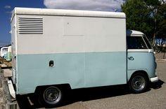 Kombi Container VW Van