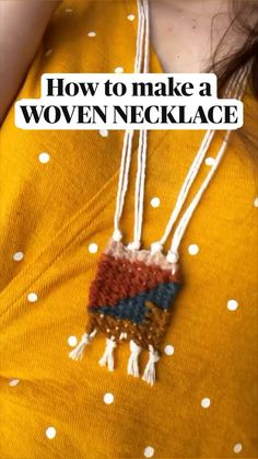 Diy Home Crafts, Yarn Crafts, Arts And Crafts, Bracelet Crafts, Jewelry Crafts, Weaving Projects, Crochet Projects, Diy Friendship Bracelets Patterns, Bijoux Diy