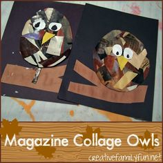 After gathering a lot of inspiration for owl crafts , I combined bits of all the ideas and came up with an owl craft of my own. I had ...