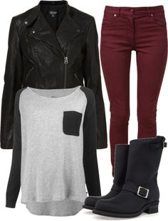 Untitled #496 by hellotia featuring frye boots… instead of those boots, insert combat boots. Oh yeah.