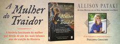 Sinfonia dos Livros: Novidade TopSeller | A Mulher do Traidor | Allison...