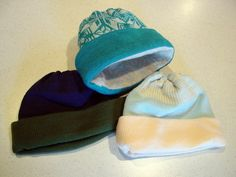 easy machine knit hat pattern