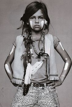 Thylane Blondeau Resurfaces as My Imaginary Well-Dressed Toddler Daughter - Fashionista Fashion Kids, Look Fashion, Ethnic Fashion, Native Fashion, Fashion Shoot, Indian Fashion, Thylane Blondeau, Estilo Hippy, Style Ethnique
