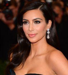 Kim Kardashian sobre cabelo