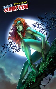 """art-of-ace-continuado: """"Poison Ivy for NYCC Find her In print at the artist alley Colors by Tots Valeza over my pencils. Poison Ivy Comic, Dc Poison Ivy, Poison Ivy Dc Comics, Poison Ivy Cosplay, Poison Ivy Batman, Dc Comics Girls, Marvel Dc Comics, Marvel Girls, Hq Dc"""