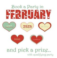 Book a Party in February & Pick a Prize!