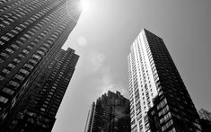 black and white building - Google Search
