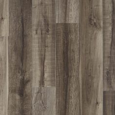 NuCore Mixed Gray Hand Scraped Plank with Cork Back - - 100376847 Vinyl Plank Flooring, Basement Flooring, Basement Remodeling, Laminate Flooring, Basement Ideas, Basement Waterproofing, Tile Flooring, Kitchen Flooring, Remodeling Ideas
