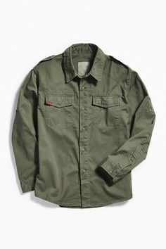 on sale c8a63 87b93 Rothco Vintage BDU Button-Down Shirt