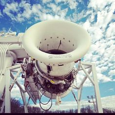 Engine test bed - GE Aviation - Peebles, OH.