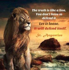 Quotes & Inspiration: The truth is like a lion Short Inspirational Quotes, Motivational Quotes For Success, Inspiring Quotes About Life, Positive Quotes, Positive Traits, Motivational Pictures, Leo Quotes, Wisdom Quotes, True Quotes