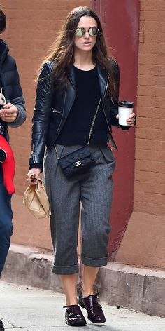8 Style Lessons We Learned from These New Celebrity Moms - Keira Knightley  - from InStyle.com