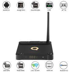 TV Box 4K BT4.0 KODI Android 6.0