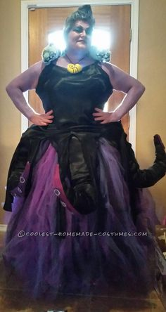 Ultimate Homemade Ursula Costume... Coolest Halloween Costume Contest