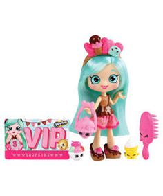 Shopkins Shoppies Ice Cream Doll Playset.
