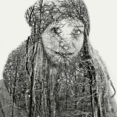 Stunning Multiple Exposure Portraits by Christoffer Relander