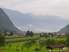 Hayracks in the Upper Bohinj Valley